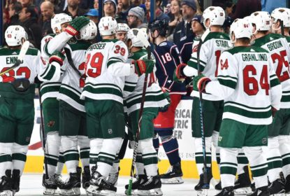 Em duelo Bobrovsky x Dubnyk, Wild vence Blue Jackets - The Playoffs