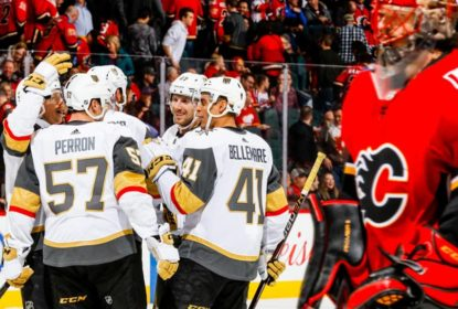 Golden Knights vencem Flames e igualam recorde de Panthers e Ducks