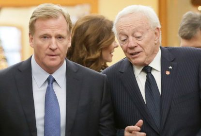 Roger Goodell aplicará multa milionária a Jerry Jones