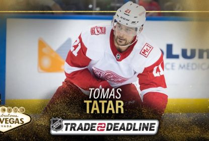 Em troca, Red Wings enviam Tomas Tatar para Golden Knights - The Playoffs