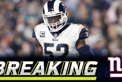 Los Angeles Rams troca Alec Ogletree com o New York Giants - The Playoffs