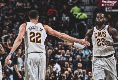 Cleveland Cavaliers - LeBron James - Larry Nance Jr
