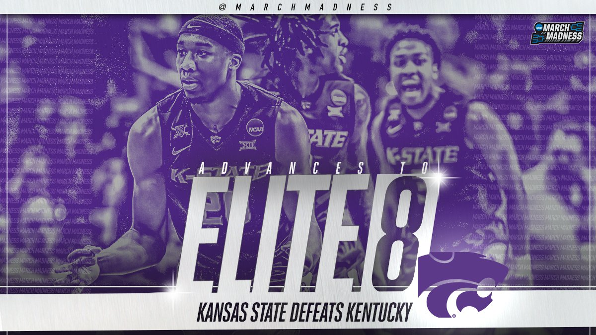 Kansas State bate Kentucky e garante vaga no Elite Eight - The Playoffs