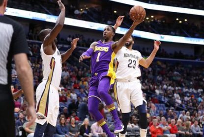 Pelicans vencem Lakers com grande atuação da dupla Anthony Davis e Rajon Rondo - The Playoffs