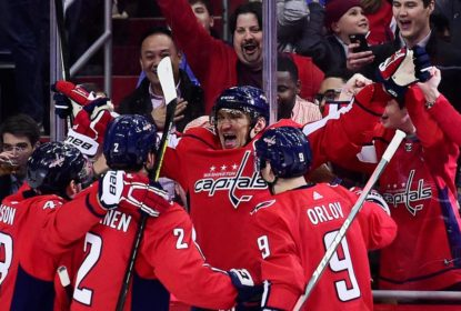 Alex Ovechkin marca 600º gol na NHL e Capitals vencem Jets - The Playoffs
