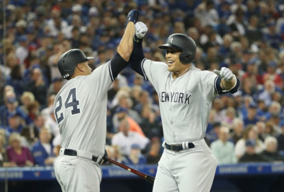 Stanton brilha no Opening Day e Yankees vencem Blue Jays - The Playoffs
