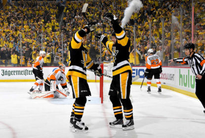 Na abertura dos playoffs, Penguins atropelam Flyers e saem na frente na série - The Playoffs