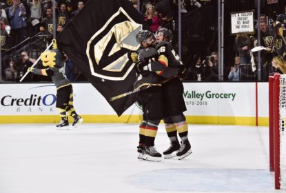 Em partida de duas prorrogações, Golden Knights vencem Kings - The Playoffs