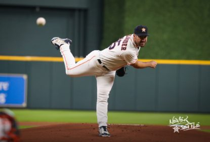 Com 9 strikeouts de Justin Verlander, Houston Astros bate Los Angeles Angels - The Playoffs