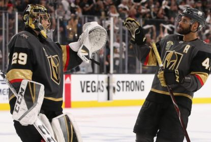 Golden Knights goleiam Sharks e abrem vantagem na série - The Playoffs
