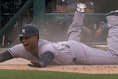 Com home runs de Aaron Hicks, Yankees derrotam Tigers - The Playoffs