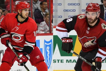 Arizona Coyotes troca Jordan Martinook por Marcus Kruger com o Carolina Hurricanes - The Playoffs
