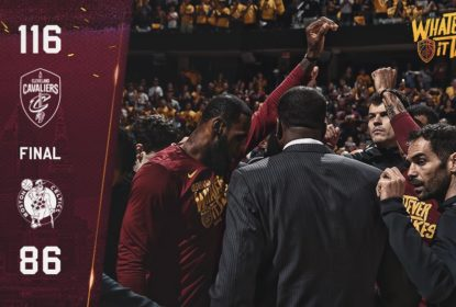 Cleveland Cavaliers vence Boston Celtics e se mantém vivo na final do Leste - The Playoffs
