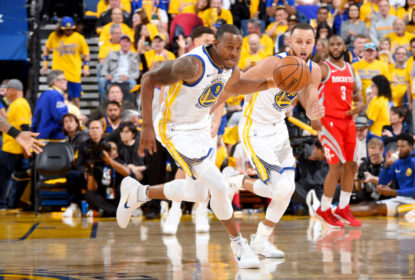 Andre Iguodala pode ser desfalque dos Warriors para o jogo 4 da final do Oeste - The Playoffs