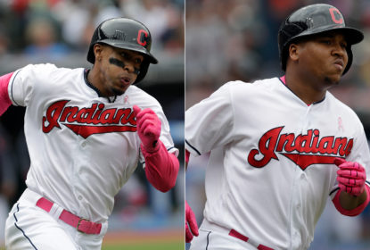 Dominantes, Indians vencem Royals no Progressive Field com show de Yan Gomes - The Playoffs