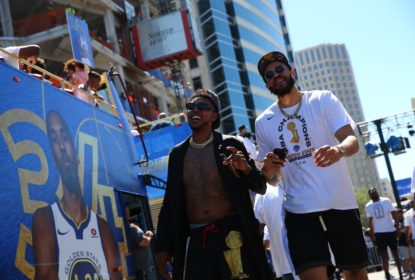Desfile Golden State Warriors - JaVale McGee - Nick Young