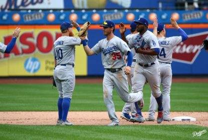 Dodgers vencem Mets com recorde de home runs - The Playoffs