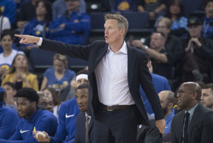 Kerr revela que assistir mais jovens foi a 'parte mais divertida' da temporada dos Warriors - The Playoffs