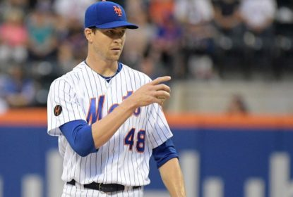 Jacob deGrom brilha mais uma vez, só que Marlins vencem Mets por 3 a 0 - The Playoffs