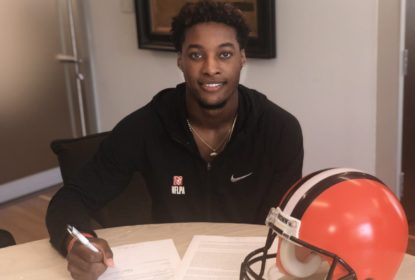 Cleveland Browns acerta contrato com Denzel Ward - The Playoffs