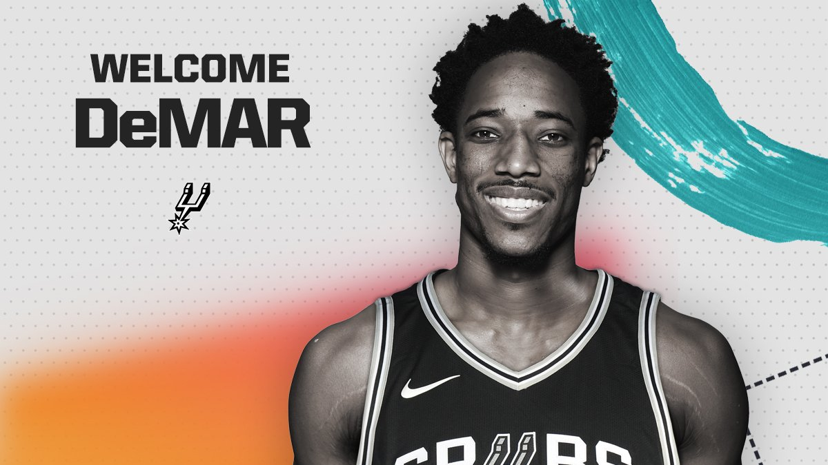 DeMar DeRozan no San Antonio Spurs