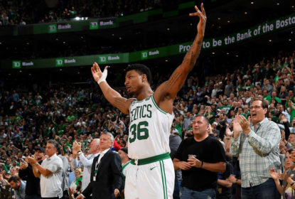 Marcus Smart é multado em US$ 5 mil por simular falta no jogo 2 contra os Raptors - The Playoffs