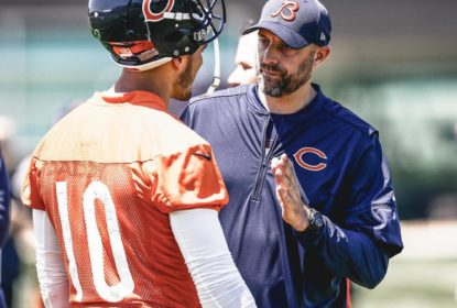 Matt Nagy acredita que Trubisky jogará contra os Lions - The Playoffs