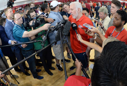 "Gregg Popovich chama de ""arrogantes"" as críticas para o Team USA - The Playoffs"