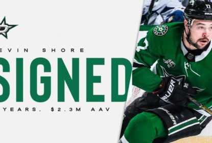 Devin Shore renova por dois anos com o Dallas Stars - The Playoffs