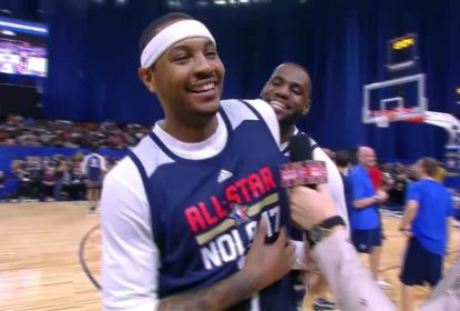 The playoffs nba no brasil aqui carmelo anthony sinaliza que estaria disposto a comear as partidas no banco de reservas the stopboris Choice Image