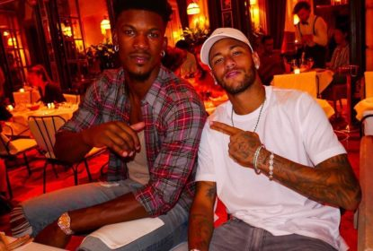 Parças? Neymar e Jimmy Butler postam fotos juntos em restaurante de Paris - The Playoffs