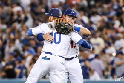 Dodgers viram no final e vencem Diamondbacks - The Playoffs