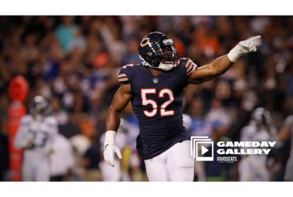 Chicago Bears vence Seattle Seahawks no MNF com show de Khalil Mack - The Playoffs