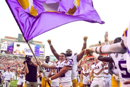 Com field goal no último lance, #12 LSU vira sobre #7 Auburn e segue invicta - The Playoffs
