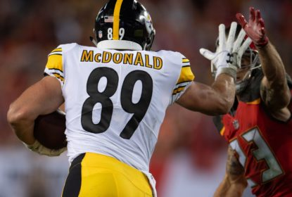 Steelers colocam Vance McDonald na lista de prevenção à COVID-19 - The Playoffs