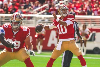 Jimmy Garoppolo elogia talento de Dante Pettis - The Playoffs