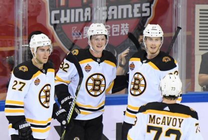 Na China, Bruins vencem Flames na abertura da pré-temporada da NHL - The Playoffs