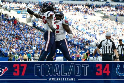 Houston Texans vence Indianapolis Colts no overtime