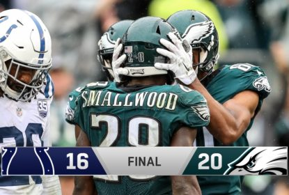 Philadelphia Eagles tem dificuldades, mas vence o Indianapolis Colts - The Playoffs