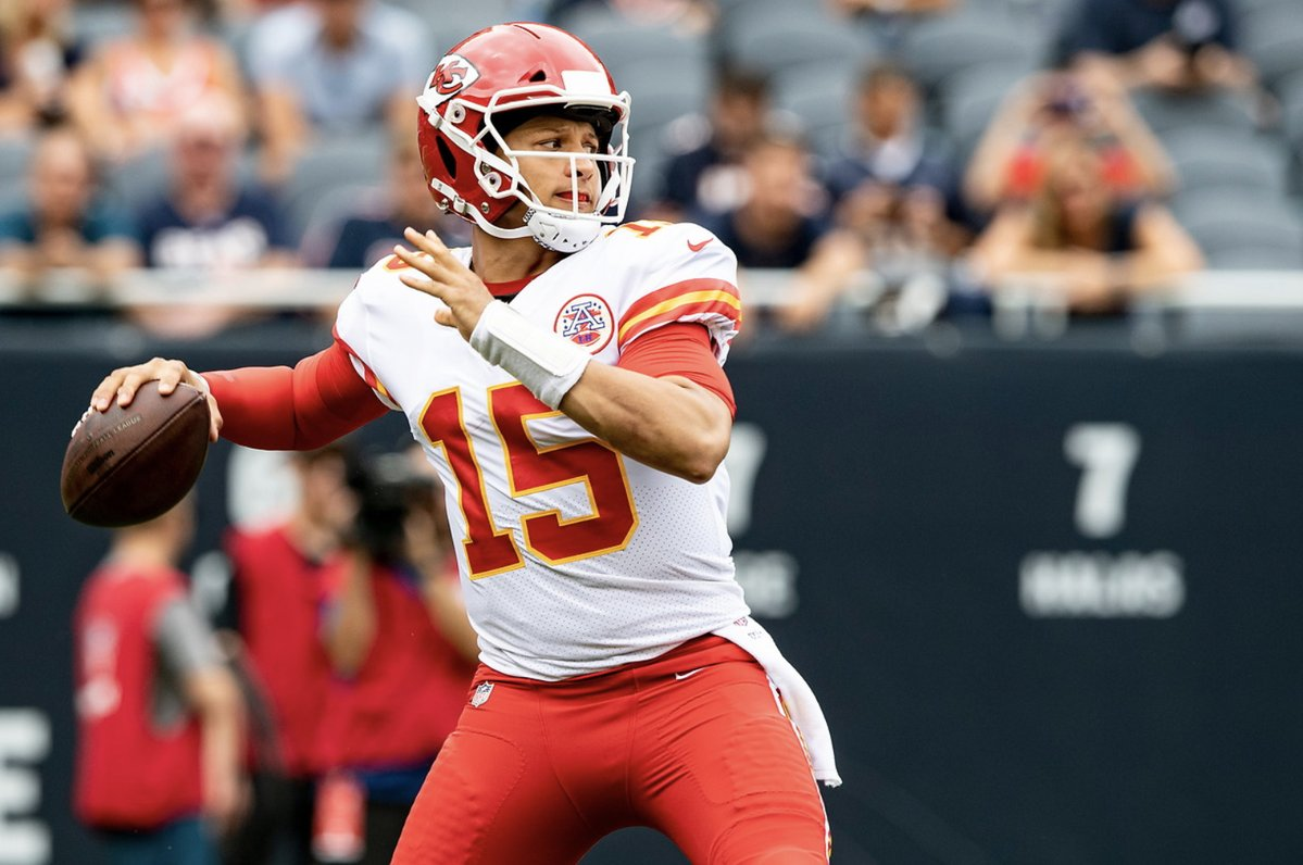 Quarterback do Kansas City Chiefs Patrick Mahomes