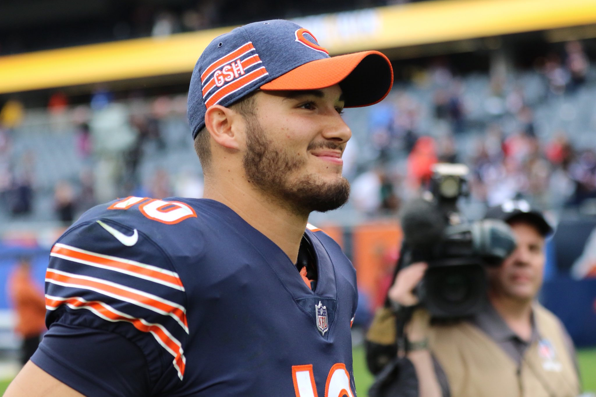 Mitchell Trubisky, quarterback do Chicago Bears