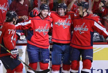 Em dia de estreia e festa, Capitals atropelam Bruins - The Playoffs