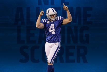 Com recorde de Vinatieri, Colts viram no fim e vencem Raiders em Oakland - The Playoffs