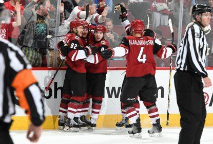 Coyotes vencem Senators em jogo terrível de Mike Condon - The Playoffs