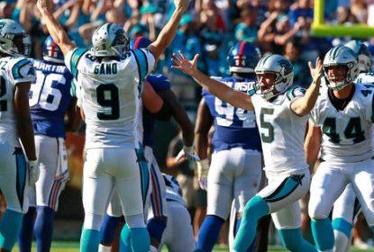 Panthers derrotam Giants graças a chute salvador de Graham Gano - The Playoffs