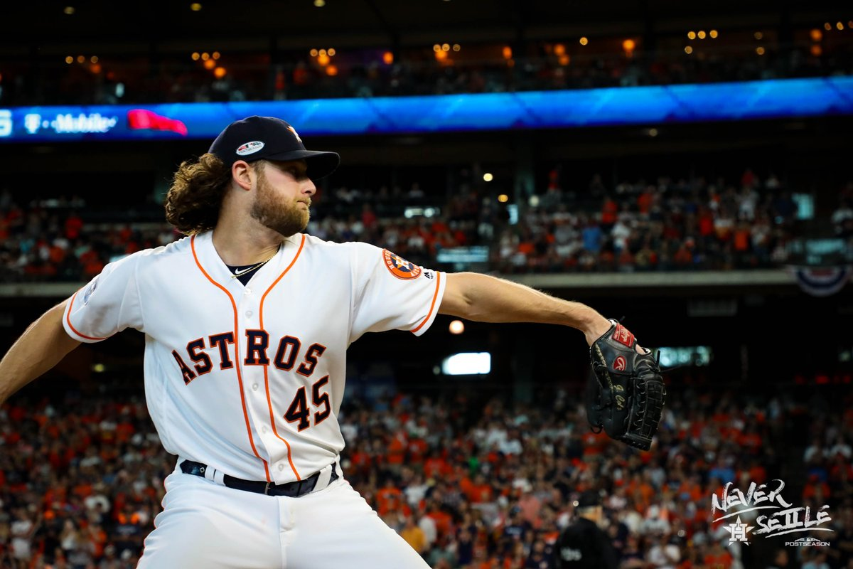 Houston Astros vence Cleveland Indians com show de Gerrit Cole