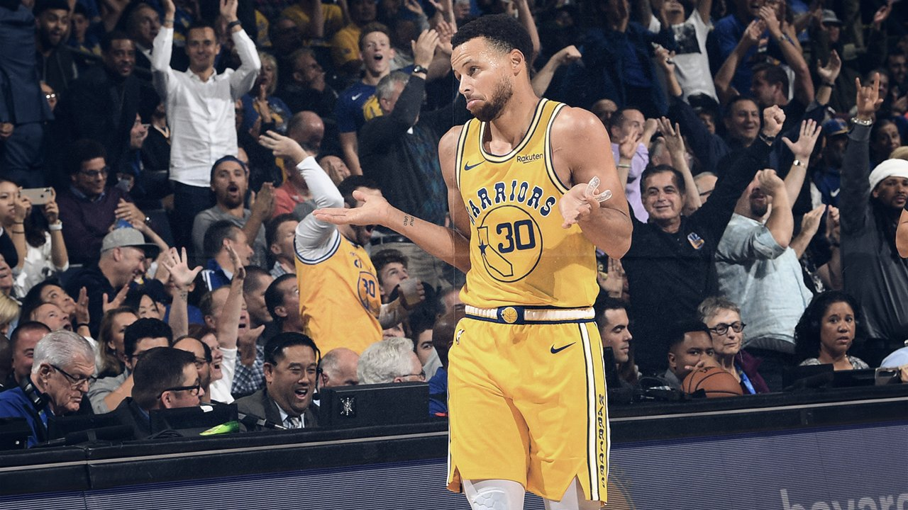 Com show de Curry, Warriors vencem os Wizards