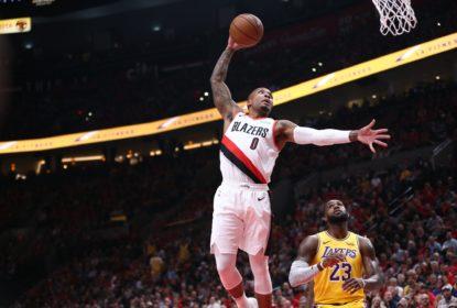 LeBron James brilha em estreia, mas Portland Trail Blazers bate o Los Angeles Lakers - The Playoffs