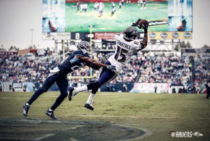 Baltimore Ravens vence sem dar chances para o Tennessee Titans - The Playoffs