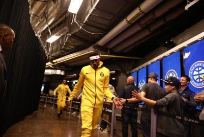 Denver Nuggets vence Golden State Warriors com toco salvador de Juan Hernangomez - The Playoffs